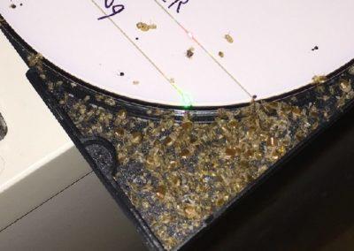 bedwants vervellingen in een cd hoes